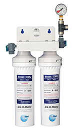 Ice-O-Matic IFQ2 Twin Combination Water Filter Cartridge Assembly, Tank