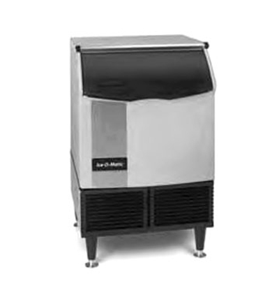 Ice-O-Matic ICEU150FW Undercounter Full Cube Ice Maker - 185-lbs/day, Water Cooled, 115v