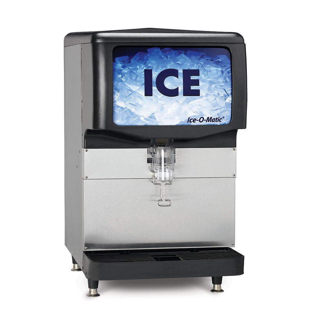 Ice-O-Matic IOD150 Countertop Cube Ice Dispenser w/ 150-lb Storage - Cup Fill, 115v