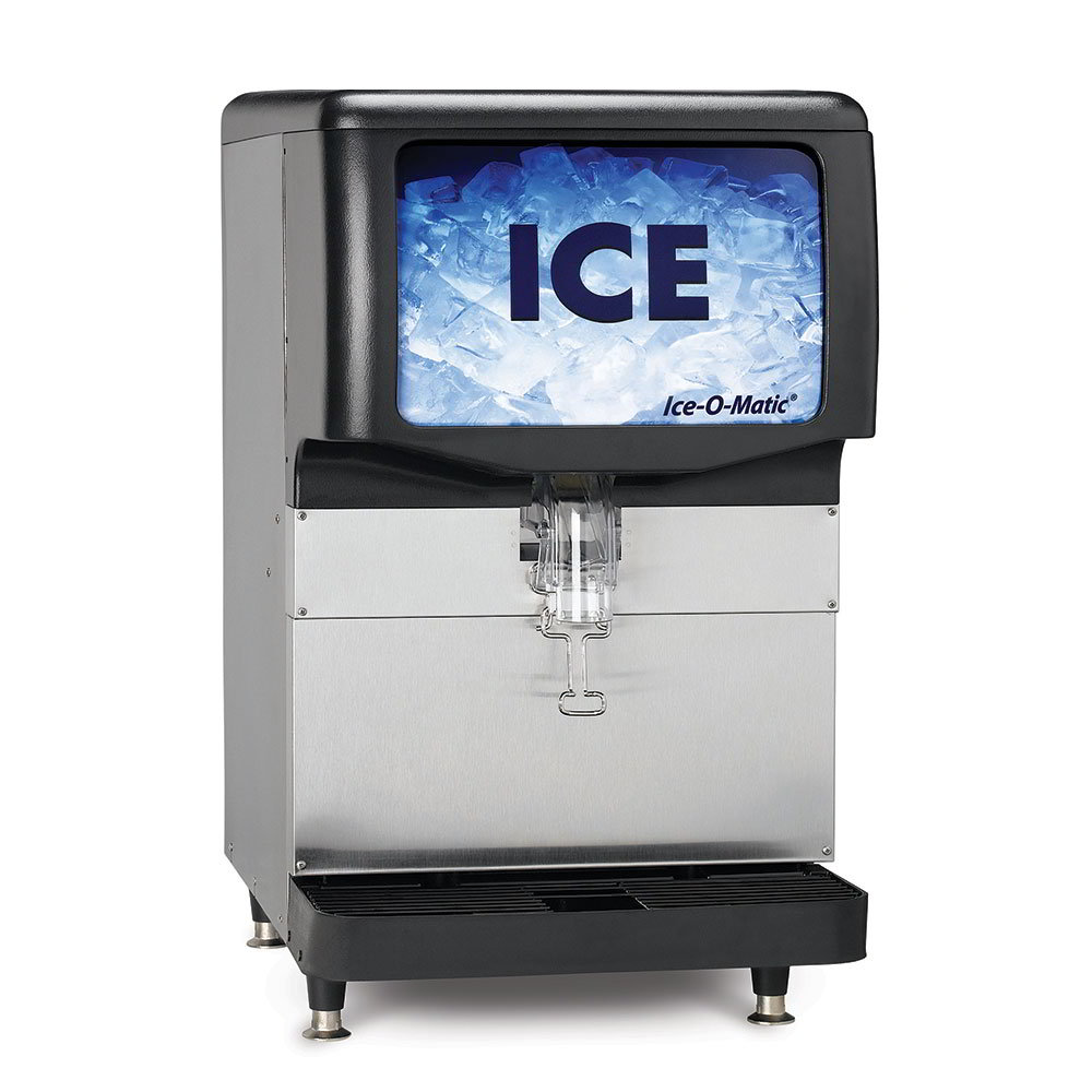 Ice-o-matic IOD200 Countertop Cube Ice Dispenser w/ 200-lb Storage - Cup Fill, 115v