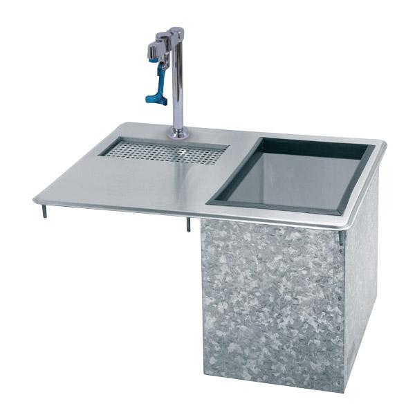 Supreme Metal D-24-WSIBL-X Bar King Ice & Water Unit, Drop-In, 23 lb Ice Capacity