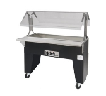 Supreme Metal B3-CPU-B-X Portable Cold Food Buffet Table w/ Open Base, 3-Pan Size, Ice Cooled