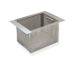 Supreme Metal A-16 10-in Perforated Basket For All Bar Sinks