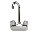 Supreme Metal A-35 Faucet w/ Goose Neck Deck Mount, Heavy Duty, Installed