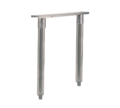 Supreme Metal A-49-SS 18-in Legs w/ Channel, Stainless