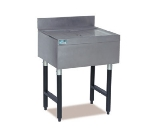 Supreme Metal CRD-4 48-in Bar Type Modular Drainboard w/ 4-in Splash, Stainless