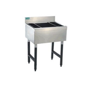 Supreme Metal CRI-12-24-X 24-in Challenger Cocktail Unit w/ 12-in Chest, 77-lb Ice