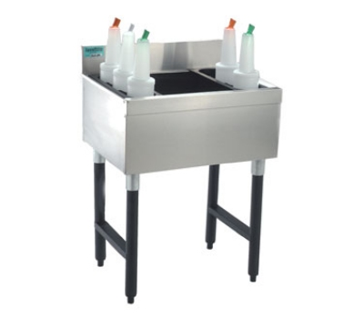 Supreme Metal CRJ-15 15-in Challenger Cocktail Unit w/ 8-in Chest, 50-lb Ice