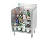 Supreme Metal CRLR-12 12-in Liquor Display Rack w/ 5-Bottles Per Tiered Steps