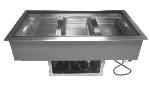"Supreme Metal DIRCP-3 47"" Drop-In Refrigerator w/ (3) Pan Capacity, Forced Air Cooled, 115v"