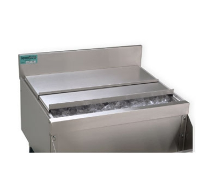 Supreme Metal SSC-12 Ice Bin Sliding Cover For 12-in Unit, Stainless