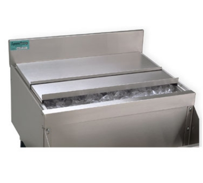 Supreme Metal SSC-PT Ice Bin Sliding Cover For Pass-Thru Unit, Stainless