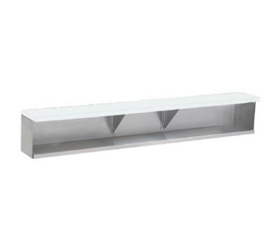 Supreme Metal TDS-4 Add-On Dish Shelf, 62-3/8-in