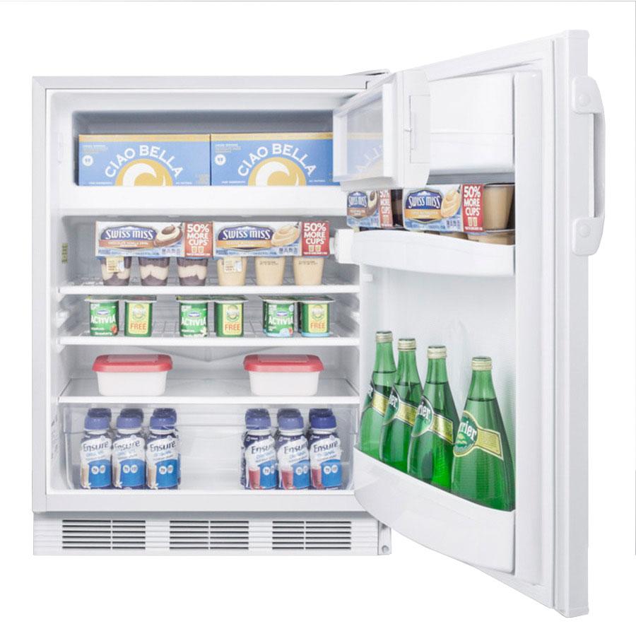 Summit AL650 Undercounter Medical Refrigerator Freezer - Dual Temp, 115v