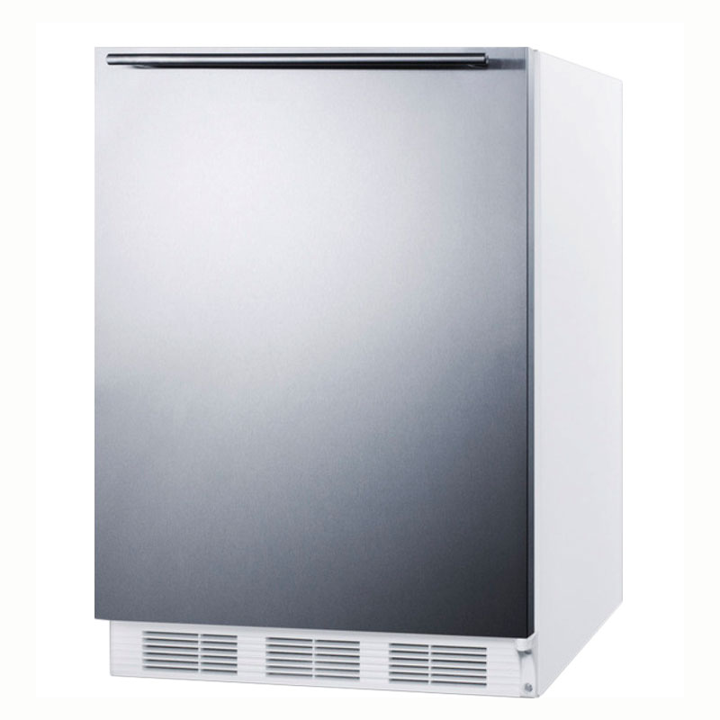 Summit Refrigeration AL650SSHH 5.1-cu ft Undercounter Freezer/Refrigerator w/ (1) Section & (1) Door, 115v