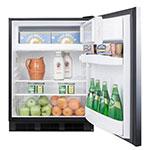 Summit AL652BSSHH Undercounter Medical Refrigerator Freezer - Dual Temp, 115v