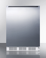 Summit AL750SSHH 5.5-cu ft Undercounter Refrigerator w/ (1) Section & (1) Door, 115v