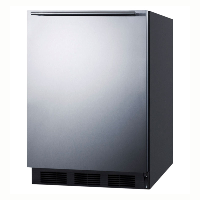 Summit Refrigeration AL752BSSHH 5.5-cu ft Undercounter Refrigerator w/ (1) Section & (1) Door, 115v