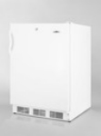 Summit Refrigeration ALF620L 1 Section 4.0 cu ft Undercounter Freezer, White, Front-Mount Lock