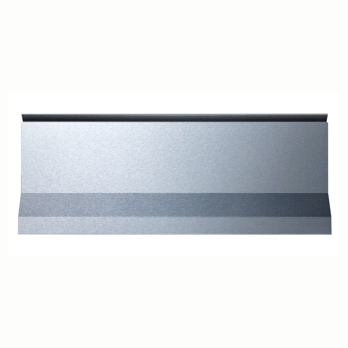 Summit Refrigeration BG24 10-in High Backguard for PRO20, Stainless