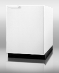 Summit Refrigeration BI605R Undercounter Refrigerator Freezer w/ Manual Defrost & Reversible Door, White, 6.1-cu ft