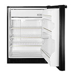 Summit BI605B Undercounter Refrigerator Freezer w/ Manual Defrost, Black, 115v