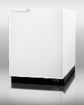 Summit Refrigeration BI605FF Undercounter Refrigerator Freezer w/ Auto Defrost & Interior Light, White, 6.1-cu ft