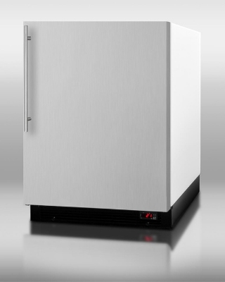 Summit Refrigeration BI605FFSSVH Refrigerator w/ Freezer Auto Defrost 6.1-cu ft Stainless Door Restaurant Supply