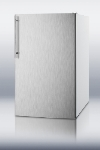 Summit Refrigeration CM405SSHV 20-in Refrigerator Freezer w/ Manual Defrost & Wire Shelves, White, 4.1-cu ft