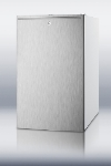 Summit Refrigeration CM411LBISSHH 20-in Refrigerator Freezer w/ Manual Defrost & Horizontal Handle, White, 4.1-cu ft