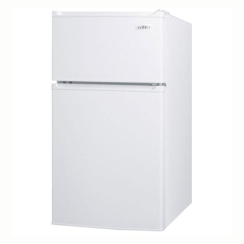 "Summit CP351W 19"" Refrigerator Freezer Combo - Freestanding, White"