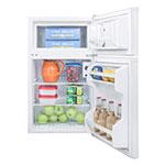 "Summit CP351WADA 19"" Refrigerator Freezer Combo - Freestanding, 2.9-cu.ft, White"