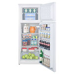 "Summit CP961 21.5"" Refrigerator Freezer - Manual Defrost Freezer, 6.4-cu ft, White"
