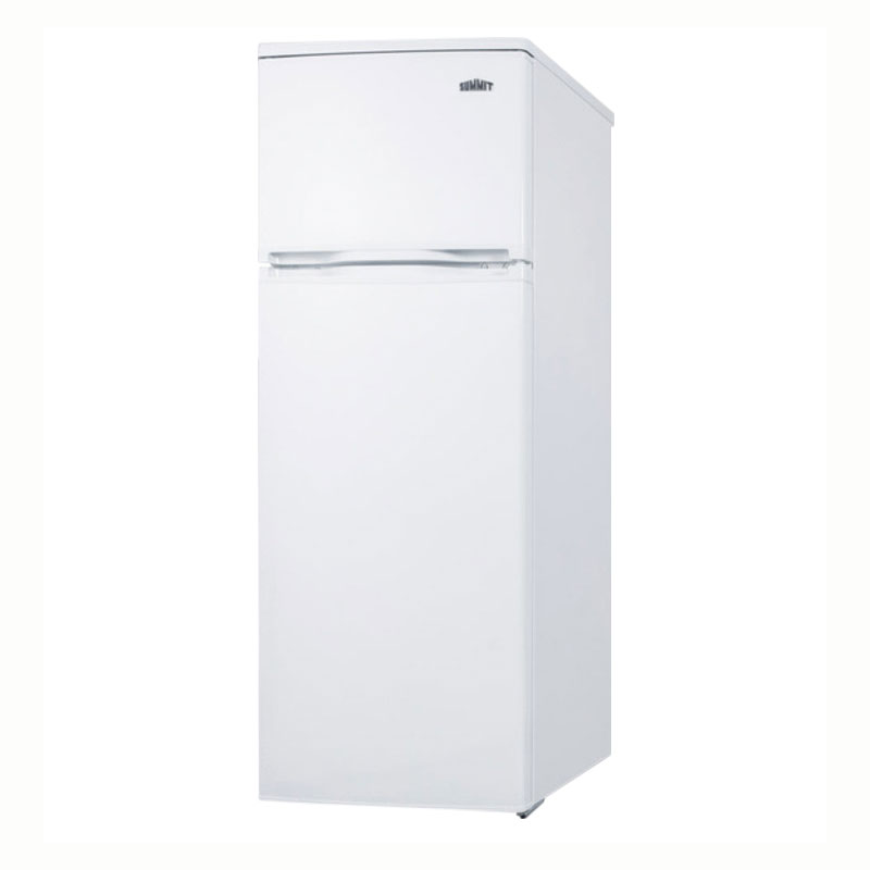 "Summit CP961 21.5"" Refrigerator/Freezer - Manual Defrost Freezer, 6.4 cu ft, White"