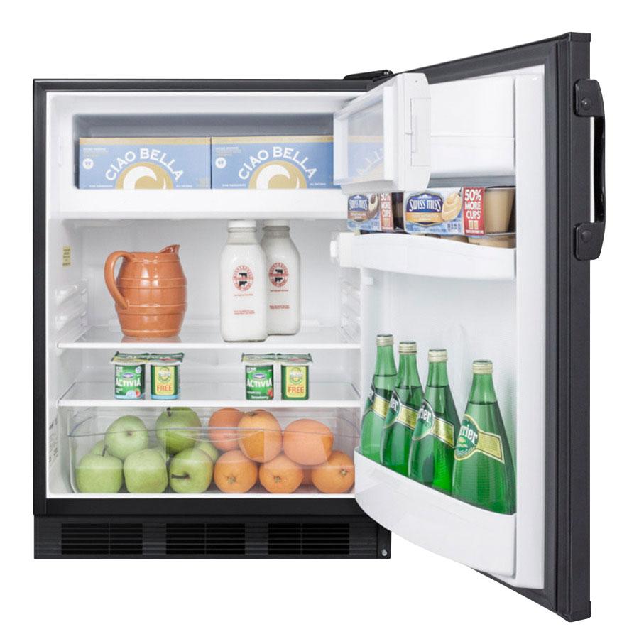Summit CT66B Undercounter Medical Refrigerator Freezer - Dual Temp, 115v
