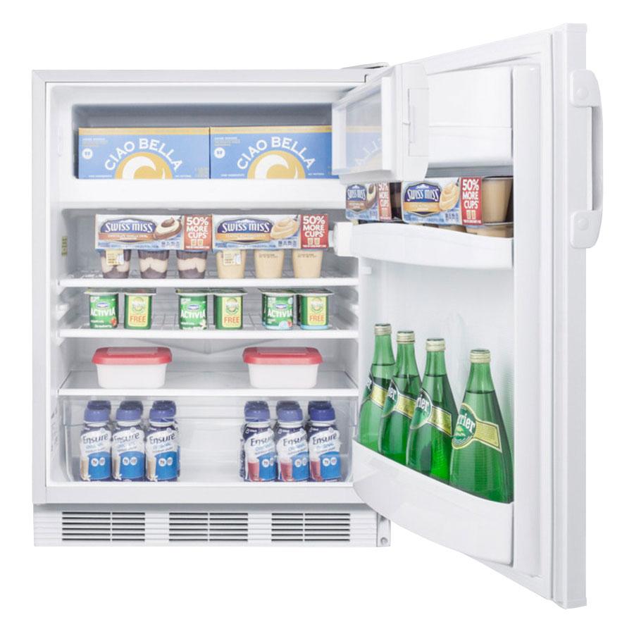 Summit CT66J Undercounter Medical Refrigerator Freezer - Dual Temp, 115v