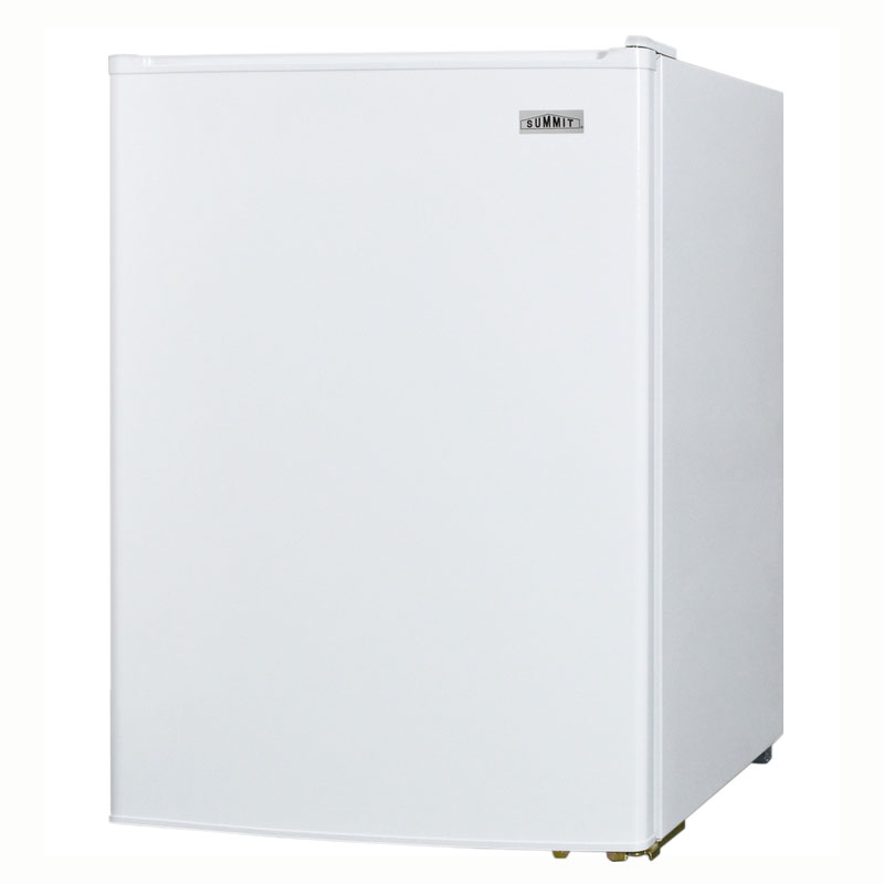 Summit CT70 Compact Refrigerator Freezer w/ Manual Defrost & Wire Shelves, White, 6.0-cu ft