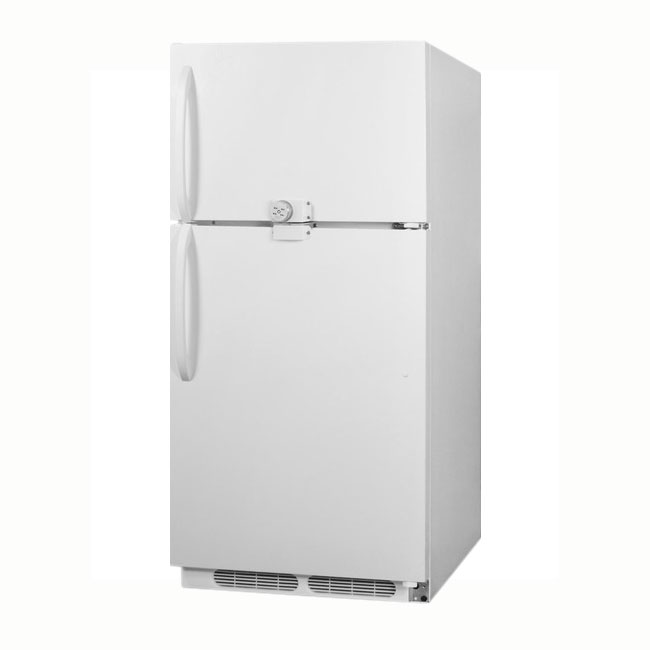 "Summit Refrigeration CTR21LLF2 30"" Refrigerator/Freezer - Frost Free, 20.9 cu ft, White"