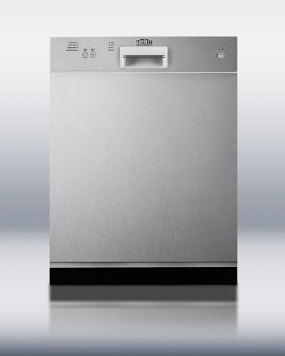 Summit Refrigeration DW2432SSADA Dishwasher w/ 12-Place Setting, 4-Programs & 3-Way Filter System, Stainless, ADA