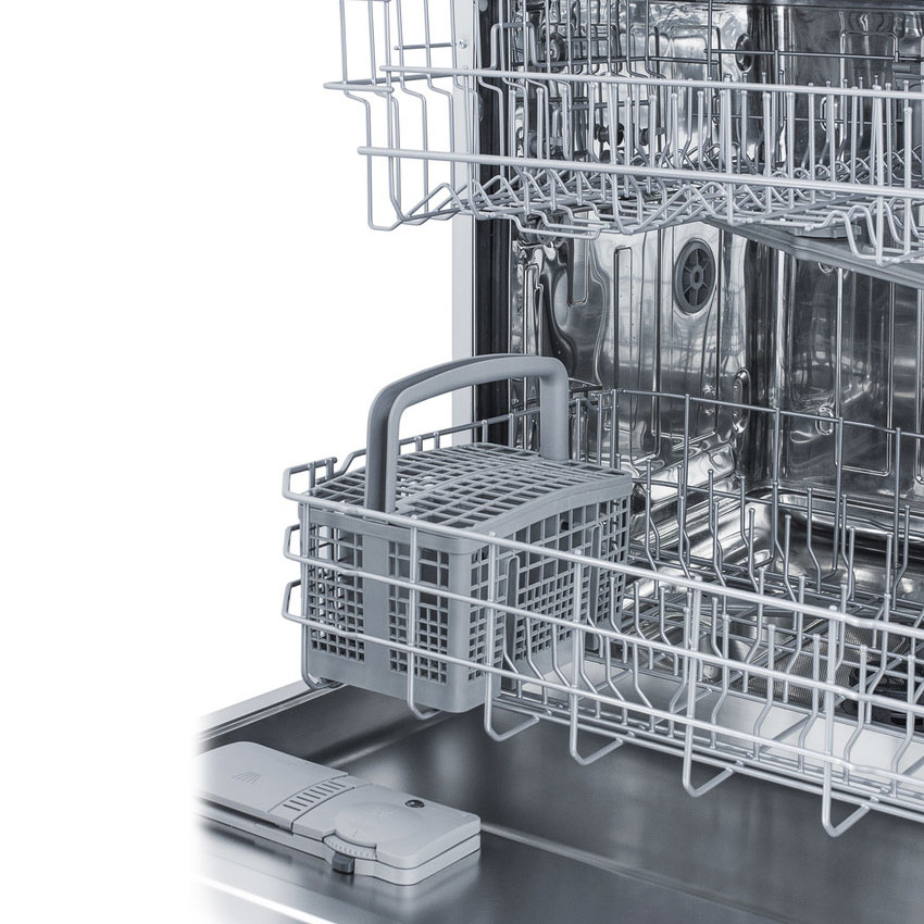 "Summit DW2433SS2ADA 24"" Dishwasher w/ 12-Place Setting & 5-Programs, Stainless, ADA"