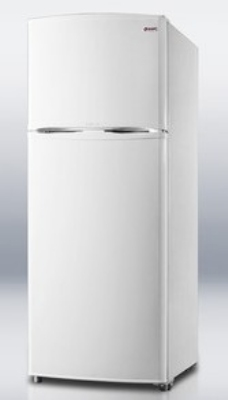 "Summit FF1062W 24"" Frost Free Freezer - Reversible Doors, White, 9.41-cu ft"