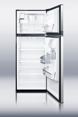 "Summit Refrigeration FF1074SSIM 24"" Two Section Reach-In Freezer, (2) Solid Doors, 115v"