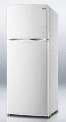 Summit Refrigeration FF1410W Refrigerator-Freezer 26 in Footprint Reversible Door White 12.5 cu ft Restaurant Supply