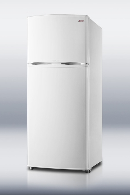 Summit Refrigeration FF1620W Refrigerator w/ Freezer Solid Doors White 15.8-cu ft Restaurant Supply