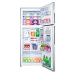 "Summit FF1935PL 29.25"" Refrigerator/Freezer - Frost Free, 18 cu ft, Platinum"
