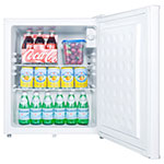 Summit FF28LWH 2.5-cu ft Compact Refrigerator w/ (1) Section & (1) Door, 115v