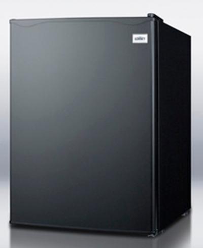 "Summit Refrigeration FF29BK 18.5"" Refrigerator - Auto Defrost, 2.4 cu ft, Black"