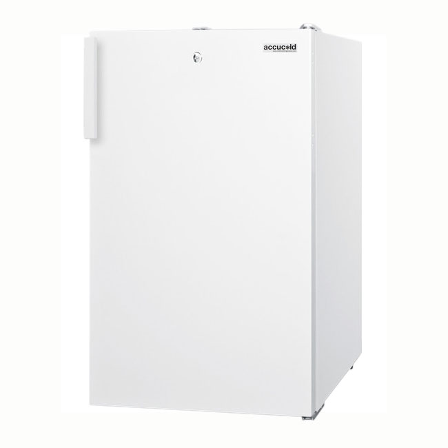 Summit Refrigeration FF511L 4.1-cu ft Undercounter Refrigerator w/ (1) Section & (1) Door, 115v