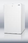 Summit Refrigeration FF511LBI Built In Refrigerator w/ Lock, 4.1-cu ft, White