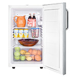 Summit FF511LBI7SSTBADA 4.1-cu ft Undercounter Refrigerator w/ (1) Section & (1) Door, 115v